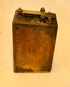 Antique Ford Model A Or T Wood Battery Box Ignition Coil