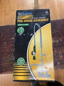 Krowne Royal Series Pre rinse Deck mounted Model 17 202wl Green Handle