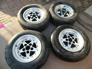 Vintage 15x7 Aluminum Mag Wheels Bolt Pattern 5 X 4 75 5x120 Very Rare