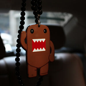 Domo Kun Car Auto Interior Rearview Mirror Pendant Ornament Hanging Charm