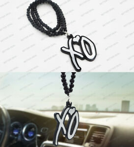 Car Auto Interior Pendant Ornament The Weeknd Xo Blue Silver Hanging Charm New