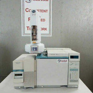 Agilent 5973n Msd With 6890 Gc And Automatic Liquid Sampler