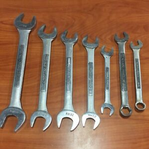 Craftsman Large Size Metric Combination Wrench 7pc 16mm 32mm 3 4 5 8