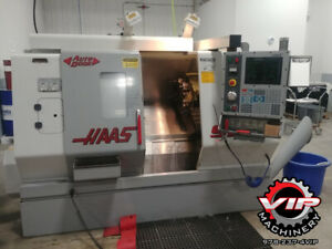 Haas Sl 20t Cnc Lathe 1 Owner Machine With Chip Auger Tool Presetter And More
