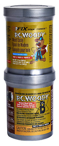 Wood Epoxy Paste Repair Filler Restoration Patch Paintable Pc woody 12 Oz New