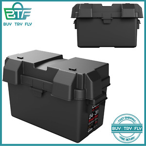 Snap Top Battery Box Automotive Marine 24 31 Rv Batteries Storage Group Holder