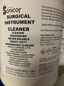 1 Gallon Ultrasonic Surgical Instrument Cleaner 105 Ultrasonic Solution