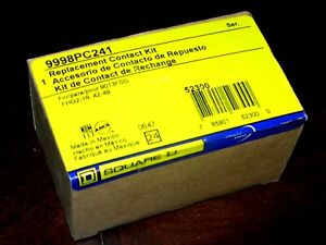 new Square D 9998pc241 Replacement Contact Kit