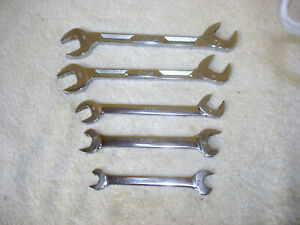 5 Snap On 3 4 Way Angle Head Open End 2 Speed Wrenches