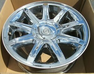 18 2005 2007 Chrysler 300 Factory Oem Wheel Rim Chrome Clad