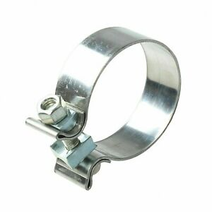 Universal 2 5 Stainless Band Steel Exhaust Clamp Accuseal