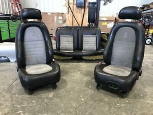 2001 2004 Ford Mustang Cobra Front Rear Driver Passenger Seat Leather suede