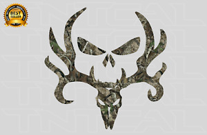 Bone Collector Deer Skull Decal Hunting Camo Sticker Car Truck Window Wall