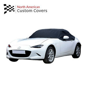 Rp262 Fiat 124 Spider Convertible Soft Top Roof Half Cover 2015 To 2020