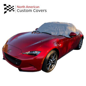 Rp262g Fiat 124 Spider Convertible Soft Top Roof Half Cover 2015 To 2020