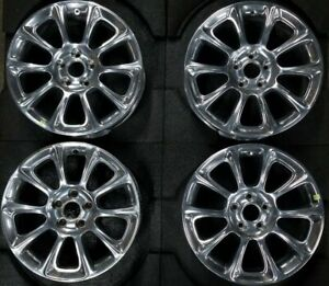 17 Dodge Dart 2013 2016 Oem Factory Polished Set Of 4 Wheel Rim Used 2482