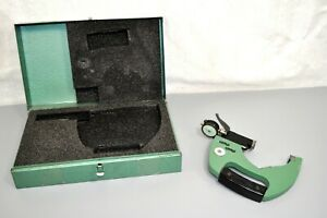 Federal Dial Indicator Snap Gage 3 4 Plain Anvil Range Od Check Inspection Tool