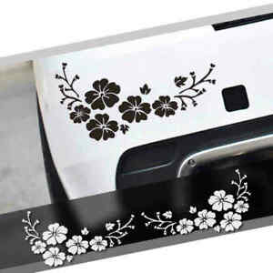 2 Plum Blossom Car Window Decal Flower Stickers For Women Floral Auto Vinyl New