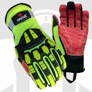 Cestus Armored Gloves Deep Iii Pro 3207 Extrication Cut Impact Protection Lrg