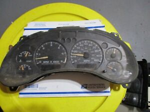 Gmc Sonoma Speedometer Display Instrument Cluster Gauges Panel Odometer Dash