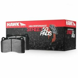 Hawk Hps 5 0 Front Brake Pads For 10 13 Panamera 15 17 Macan Turbo