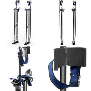 Professional 46 In To 64 In Aluminum Drywall Sheet Lifter Stilts Adjustable
