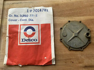 Corvette 1957 65 Fuel Injection 1 tower Diaphragm Cover 7014781 nos New