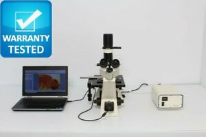 Zeiss Axiovert 25 Cfl Inverted Fluorescence Phase Contrast Microscope Unit