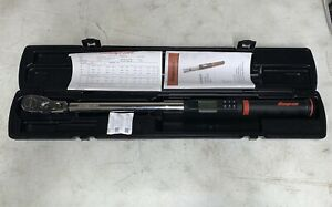 Snap On 1 2 Dr Atech3fr250b Techangle Electronic Torque Wrench 250 Ft Lbs Mint