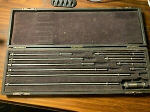 Brown Sharpe 265 Inside Micrometer Set 1 5 12 5