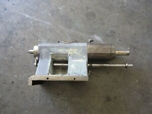Daewoo Doosan Twin Turret Z290 Cnc Lathe Tail Stock Tailstock Assembly