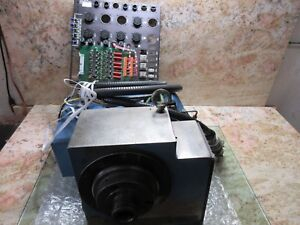 Acroloc M15l Cnc Mill 4th Axis Rotary Table Indexer Bayer Dtd P n 118 230 Fanuc