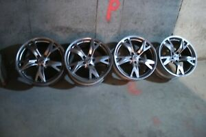 Nissan 370z Sport Rays Wheels 19 Oem Staggered Set Used But In Good Condition