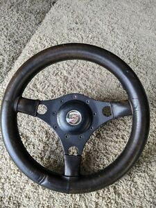 Porsche 356c 356sc 336a B 912 Vintage Leather Italian Steering Wheel Prestige