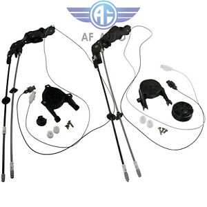 2pcs For 2004 2010 Toyota Sienna Power Sliding Door Cable W O Motor Left