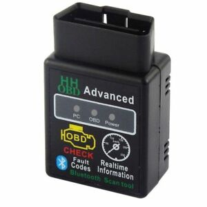 Elm327 Obd2 Bluetooth Scanner Torque Android Diagnostic For Jeep Ford Chevrolet