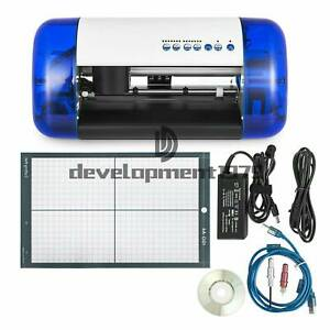 A4 Vinyl Cutter Cutting Plotter Carving Machine Artcut Software Diy