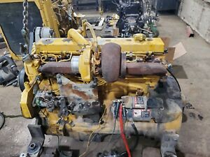 Used John Deere 6068t Engine Turbo Diesel Running Video 690elc Excavator