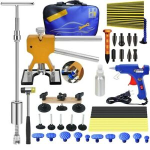 Diy Auto Slide Hammer Dent Lifter Body Panel Dent Repair Tool Kit