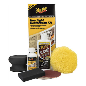 Meguiars G2980 For Heavily Oxidized Heavy Duty Headlight Restoration Kit