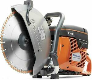 Husqvarna New K770 14 Concrete Cutoff Saw Free Shipping blade Not Included