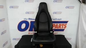 07 Porsche Boxster Front Right Passenger Seat Black Leather