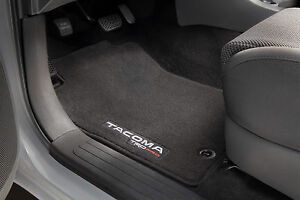 Set Of 4 Genuine Toyota Trd Pro Carpet Floor Mats For The 12 15 Tacoma new