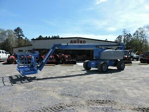 2008 Genie Z80 60 Articulating Boom Lift Watch Video Only 3236 Hours