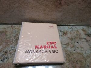 Monarch Cnc Machine Vmc Cpc Manual Bendix Probe Manual Cpc 5 Cnc Edm