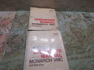 Monarch Vmc System 5 Operators Manual Vmc 75 Opr 5cm 2 Cnc Vertical Mill