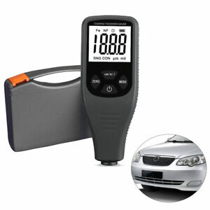 Paint Coating Thickness Meter Gauge Tester Auto F nf Probes 0 1300um Car Coating