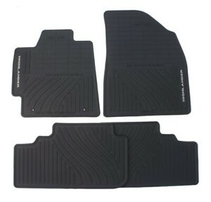 Genuine Oem Front Rear All Weather Floor Mats For Toyota Highlander 08 13