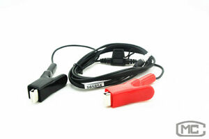 Brand New Power Cable For Leica Total Station 5 pin 0b Wire To Alligator Clips