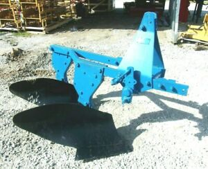 Used Ford 2 12 Inch Turning Plow 3 Pt free 1000 Mile Delivery From Kentucky